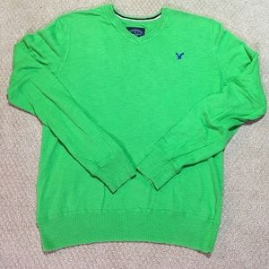 Lime Green American Eagle Sweater